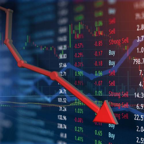 Baisser - La bourse baisse