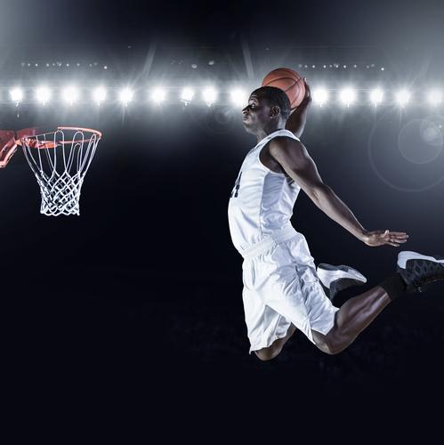 Basket-ball, un sport emblématique des USA.