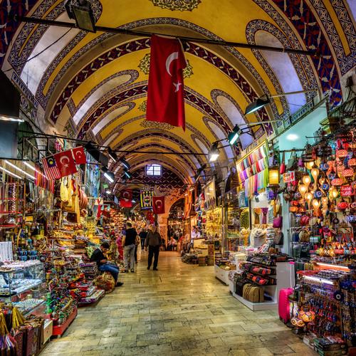 Un bazar turque