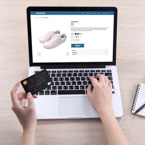 Shopping, vente en ligne