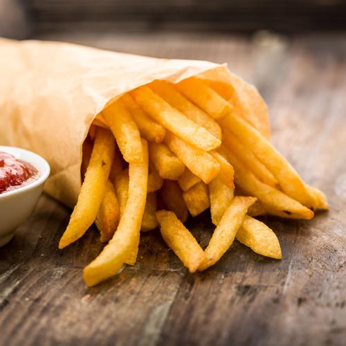 Un cornet de frites