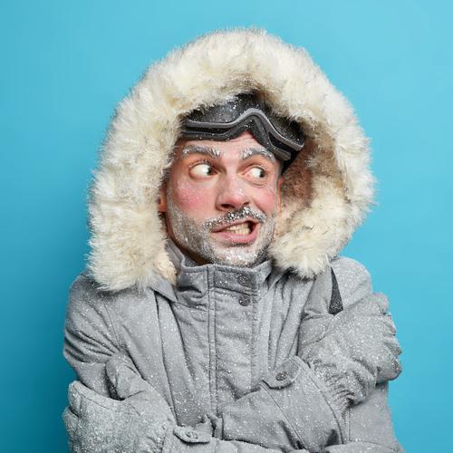 Il fait froid ici !