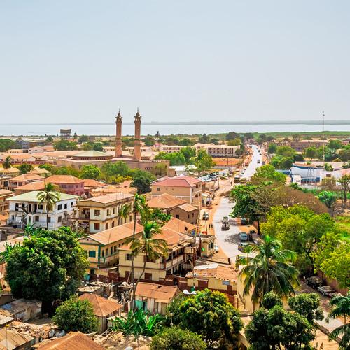 Banjul, capitale de la Gambie