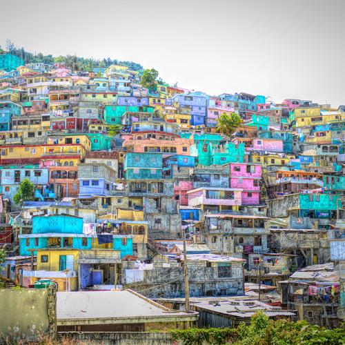 Port au Prince, capitale d'Haïti