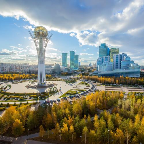 Noursoultan, capitale du Kazakhstan