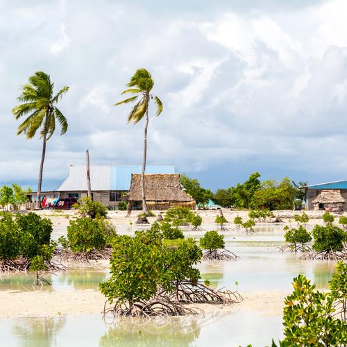 Tarawa, capitale des Kiribati