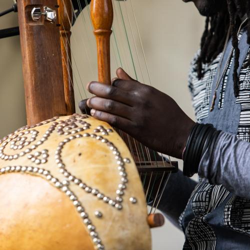 Kora, instrument de musique