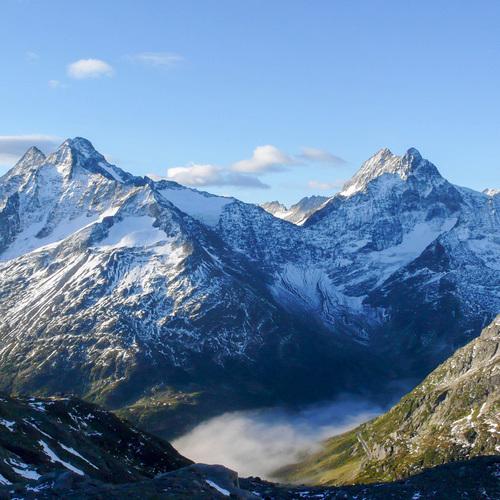 Montagne, les Alpes Suisses