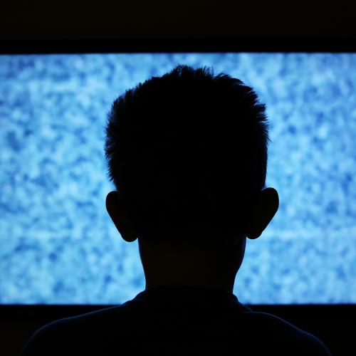 Neige à la télévision