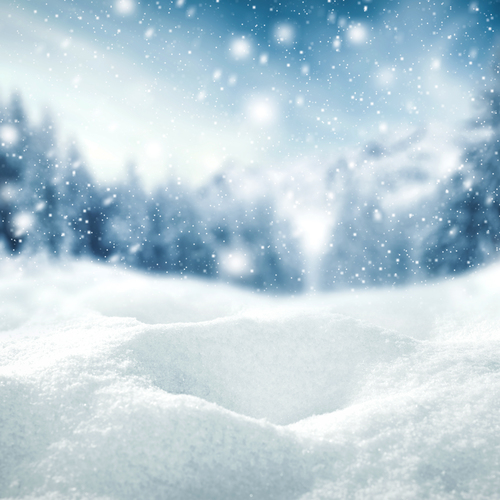 Neige en hiver
