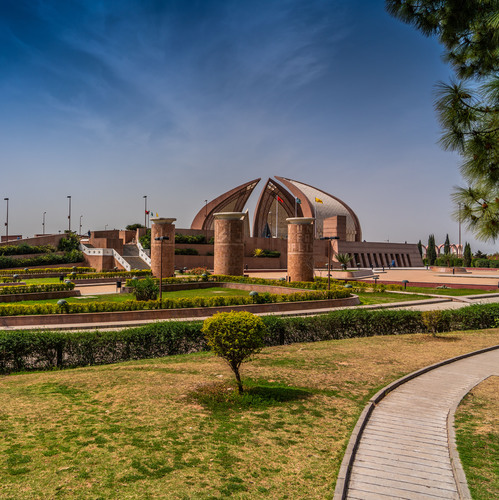 Islamabad, capitale du Pakistan