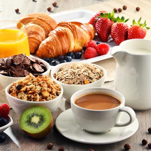 Le petit-déjeuner est parfois grand !