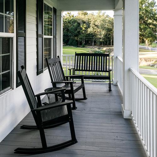 Porche de la maison