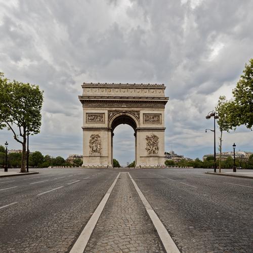Paris, sans personne ...
