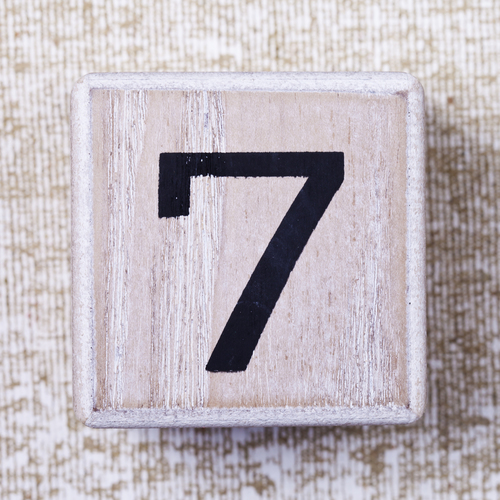Chiffre sept