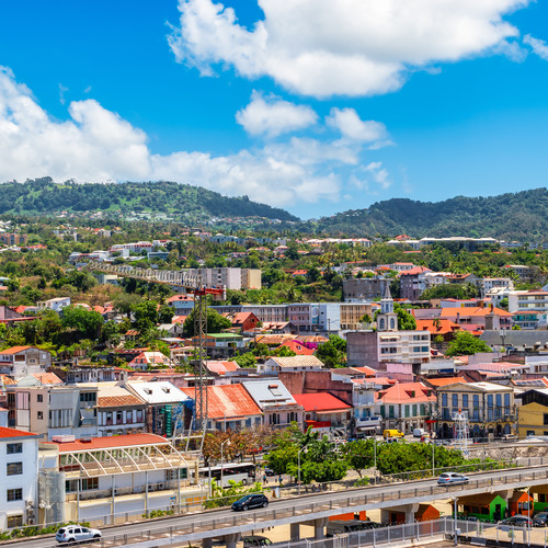 Basseterre, capitale de Saint-Kitts-et-Nevis