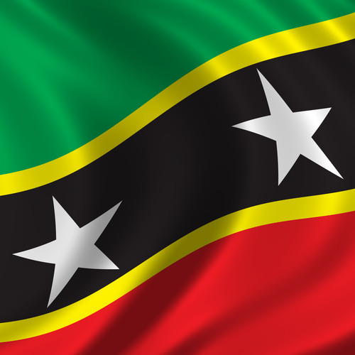 Drapeau de Saint-Kitts-et-Nevis