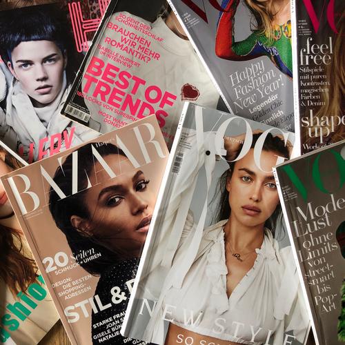 La une d'un magazine ...