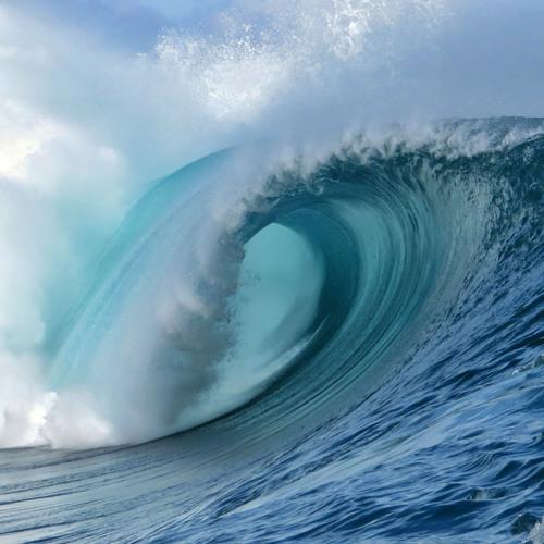Une gigantesque vague