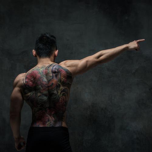 Yakusa et son tatouage